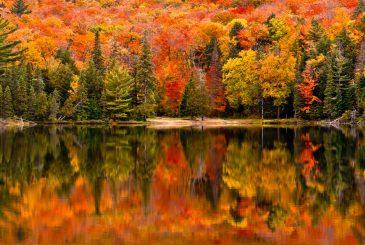 canada during autumn season