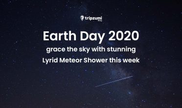 Earth day 2020 Lyrid Meteor Shower