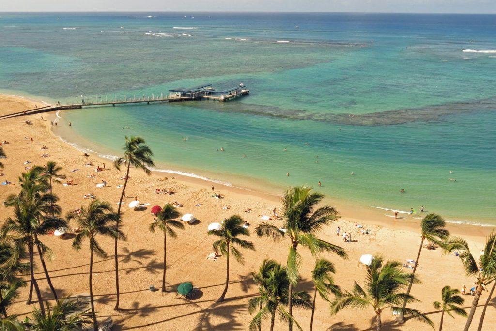 Duke Kahanamoku Beach, Oahu, Hawaii