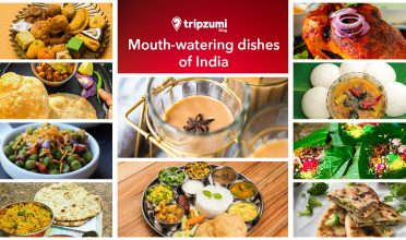 Mouth-watering dishes of India