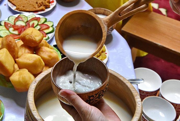 Fermented Mare's Milk (Kymyz)