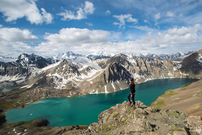 Trek the Tian Shan Mountains